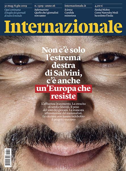 Internazionale cover - Salvini 2019