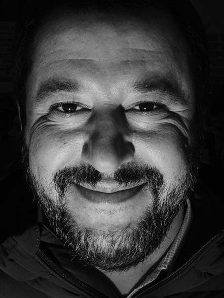 Matteo Salvini Marco P. Valli Time Cover Realpolitik Boys Boys Boys